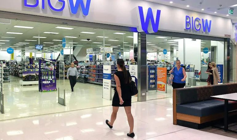 The Big W in Auburn Central shopping centre